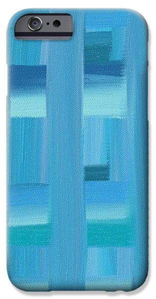 AD1 iPhone Case by Abstract Digital