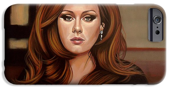Rain iPhone Cases - Adele iPhone Case by Paul Meijering