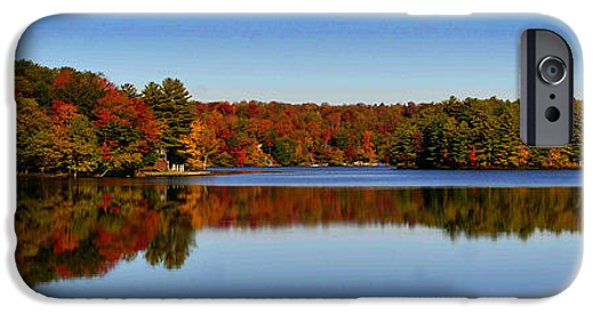 Berry iPhone Cases - Adirondack October iPhone Case by Diane E Berry