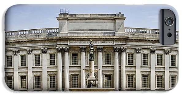 Naval College iPhone Cases - Admirals House iPhone Case by Heather Applegate