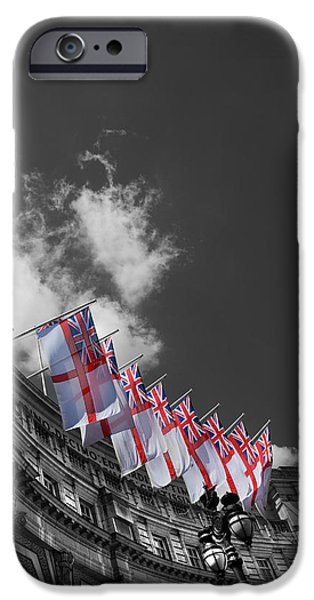Admiralty Arch London iPhone Case by Mark Rogan