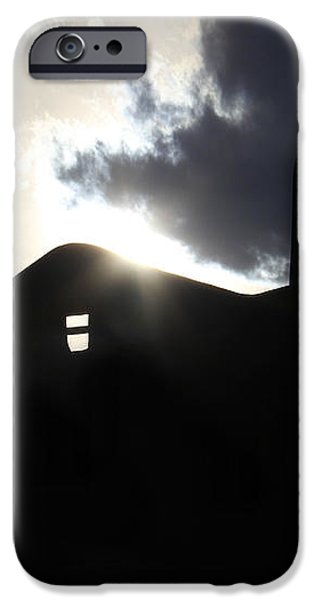 Adobe in the Sun iPhone Case by Mike McGlothlen