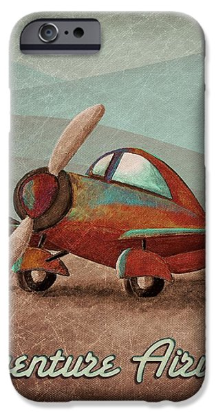 Adventure Air iPhone Case by Cindy Thornton