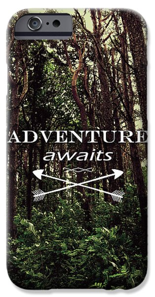 Adventure iPhone Cases - Adventure Awaits iPhone Case by Nicklas Gustafsson