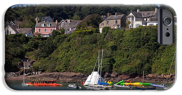 Canoeing iPhone Cases - Adventure Center Instruction, Dunmore iPhone Case by Panoramic Images
