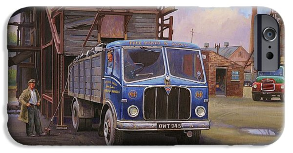 Coal iPhone Cases - AEC Mercury tipper. iPhone Case by Mike  Jeffries