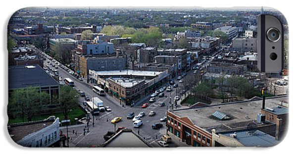 Lincoln iPhone Cases - Aerial View Of Crossroad Of Six iPhone Case by Panoramic Images