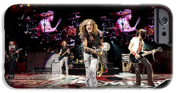 Cheap iPhone Cases - Aerosmith - Austin Texas 2012 iPhone Case by Epic Rights