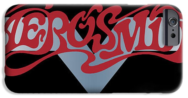 Tom Boy iPhone Cases - Aerosmith - Dream On Banner 1973 iPhone Case by Epic Rights