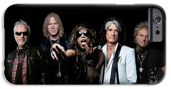 Steven Tyler iPhone Cases - Aerosmith - Global Warming Tour 2012 iPhone Case by Epic Rights