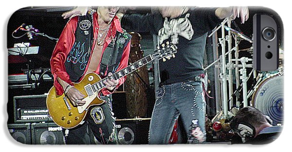 Gary Gingrich iPhone Cases - Aerosmith - Joe Perry -DSC00182-2 iPhone Case by Gary Gingrich Galleries