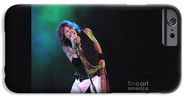 Gary Gingrich iPhone Cases - Aerosmith - Steven Tyler -DSC00139 iPhone Case by Gary Gingrich Galleries