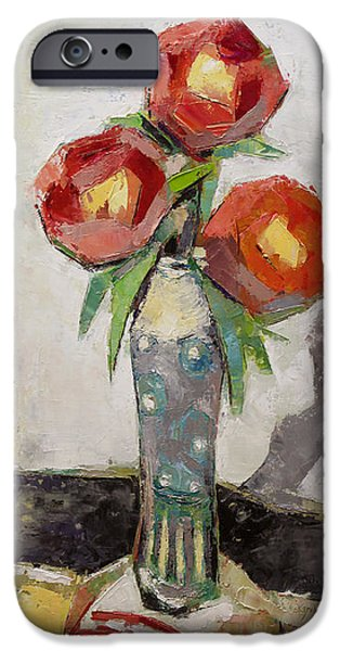 Becky Kim Paintings iPhone Cases - Aesthetic iPhone Case by Becky Kim