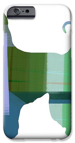 Afghan Hound 1 iPhone Case by Naxart Studio