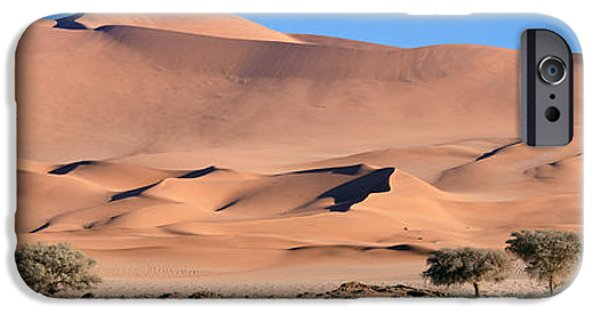 Mounds iPhone Cases - Africa, Namibia, Namib Desert iPhone Case by Panoramic Images