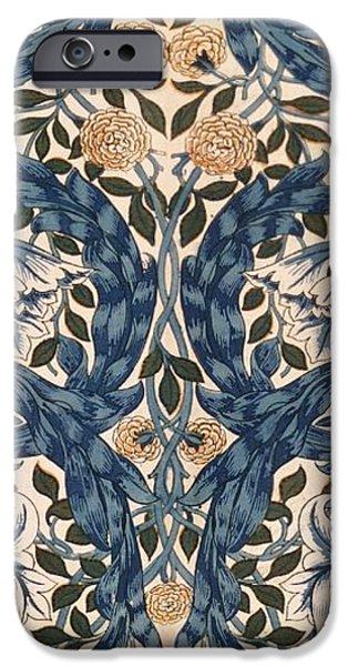 African Marigold design iPhone Case by William Morris