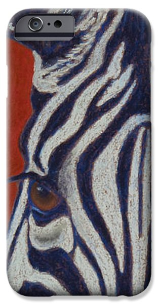 Stripes Pastels iPhone Cases - African Stripes iPhone Case by Tracy L Teeter