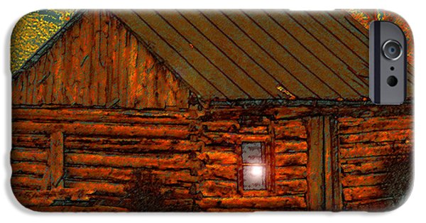 House Art iPhone Cases - After a hard days work iPhone Case by David Lee Thompson