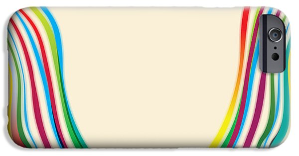 Arlington iPhone Cases - After Morris Louis 2 iPhone Case by Gary Grayson