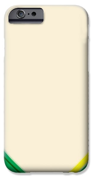 After Morris Louis 2 iPhone Case by Gary Grayson