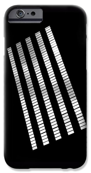 Windows iPhone Cases - After Rodchenko 2 iPhone Case by Rona Black