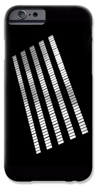 Architecture iPhone Cases - After Rodchenko 2 iPhone Case by Rona Black