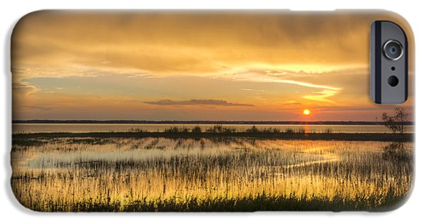 Field. Cloud iPhone Cases - After The Rain iPhone Case by Debra and Dave Vanderlaan