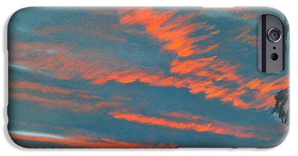 Storm Prints Pastels iPhone Cases - After The Rain iPhone Case by Pamela Heward