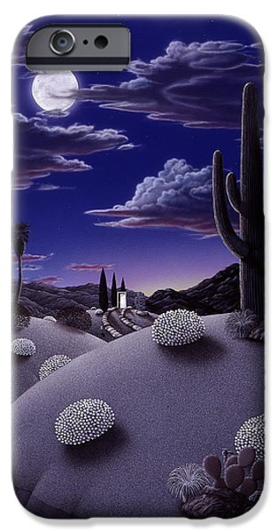 Desert iPhone Cases - After the Rain iPhone Case by Snake Jagger