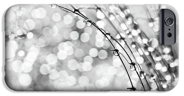 Macro iPhone Cases - After The Rain iPhone Case by Theresa Tahara