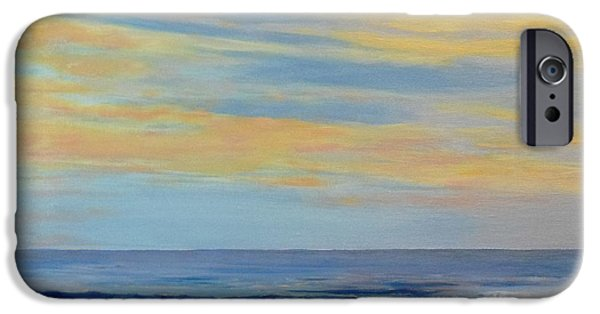 Cape Cod Pastels iPhone Cases - After the Storm iPhone Case by Catherine Haynes