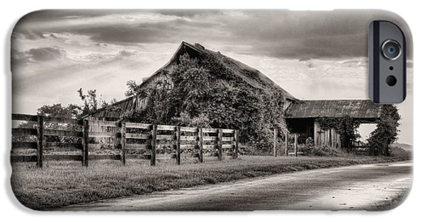 Maryland Barn Photographs iPhone Cases - After the Storm iPhone Case by JC Findley