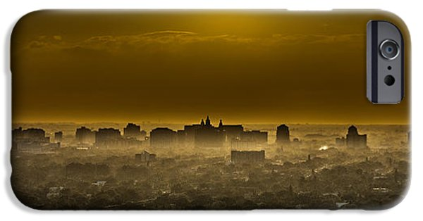Multimedia iPhone Cases - After the Storm - Miami iPhone Case by Frank Mari