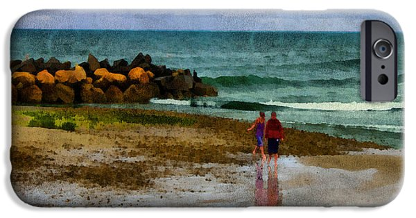 Storm Clouds Cape Cod iPhone Cases - After the Storm iPhone Case by William Sargent