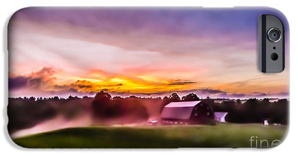 Storm iPhone Cases - After the storms have cleared iPhone Case by Edward Fielding