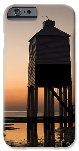 Nineteenth iPhone Cases - After the Sun Set iPhone Case by Anne Gilbert