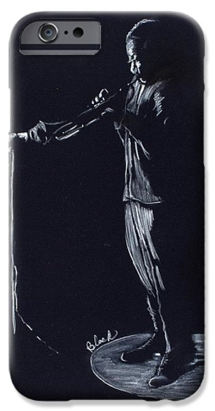African-american Pastels iPhone Cases - AfterHours iPhone Case by Charlie Black