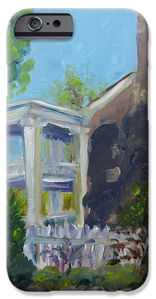 Carnton Plantation iPhone Cases - Afternoon at Carnton Plantation iPhone Case by Susan E Jones
