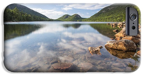 Jordan iPhone Cases - Afternoon by the Pond iPhone Case by Marco Crupi