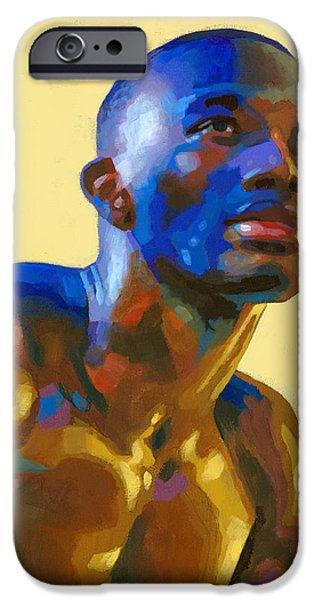 Afternoon Colors iPhone Case by Douglas Simonson