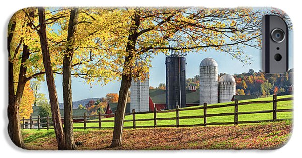 Fall In New England iPhone Cases - Afternoon Delight iPhone Case by Bill  Wakeley