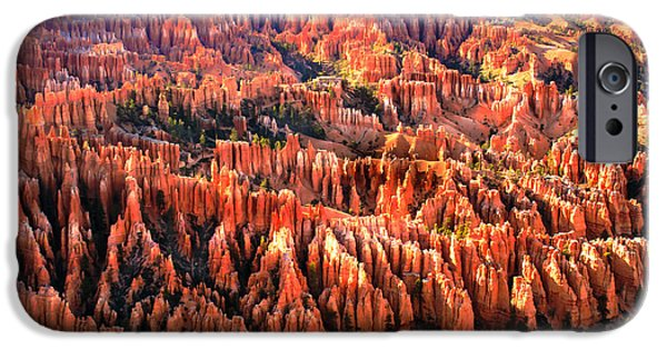 Recently Sold -  - Haybale iPhone Cases - Afternoon Hoodoos iPhone Case by Robert Bales