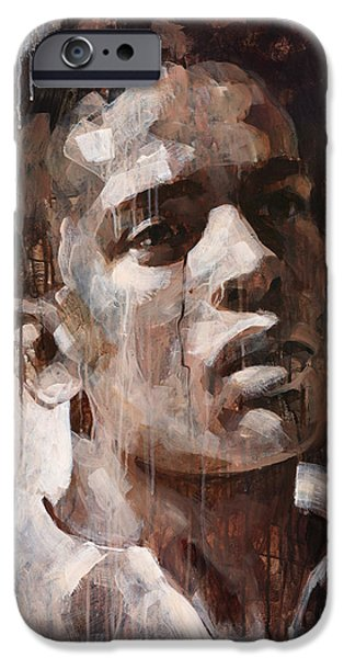 Young Paintings iPhone Cases - Afternoon in Nice iPhone Case by Douglas Simonson