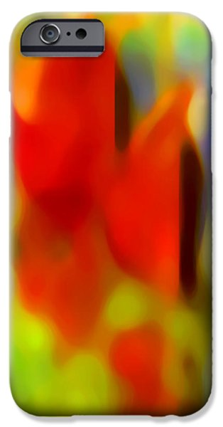 Abstract Movement iPhone Cases - Afternoon in the Park iPhone Case by Amy Vangsgard