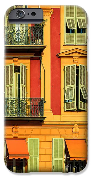 Balcony iPhone Cases - Afternoon Windows iPhone Case by Inge Johnsson