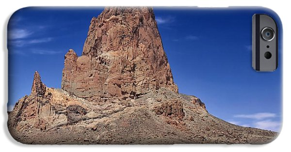 Desert Scape iPhone Cases - Agathla Peak iPhone Case by Gary Yost
