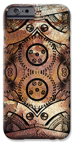 Age Of The Machine 20130605rust vertical iPhone Case by Wingsdomain Art and Photography