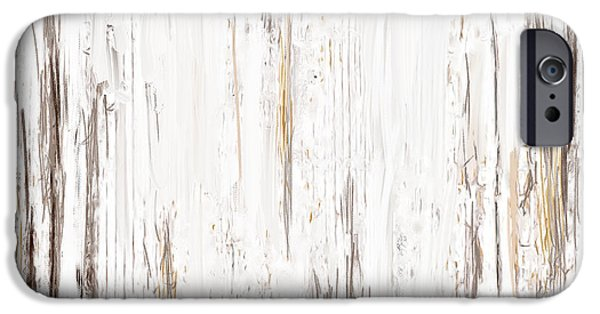 Beige Abstract iPhone Cases - Aged Allure iPhone Case by Lourry Legarde