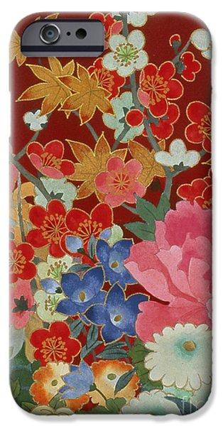 Make Up iPhone Cases - Agemaki Crop I iPhone Case by Haruyo Morita