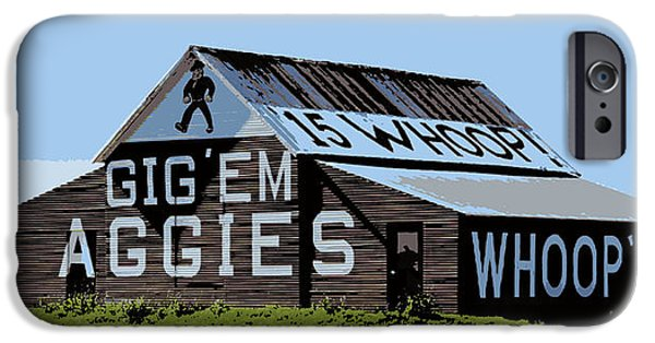Ems iPhone Cases - Aggie Barn II iPhone Case by Stephen Stookey